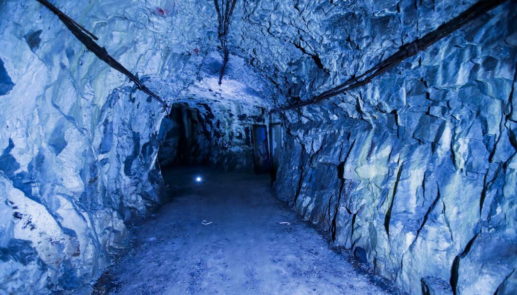 Grotten på St. Hanshaugen der flere personer ble skadd av kullosforgiftning etter en fest natt til søndag 30. august.