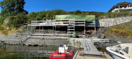 Kommunen krever at Øystein Stray Spetalen stanser bygging i strandsonen på Bygdøynes