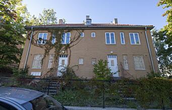 Kommunen vil selge de verneverdige murvillaene i Ekebergskrenten. — Dette er ren spekulasjon i forfall, mener Rødt
