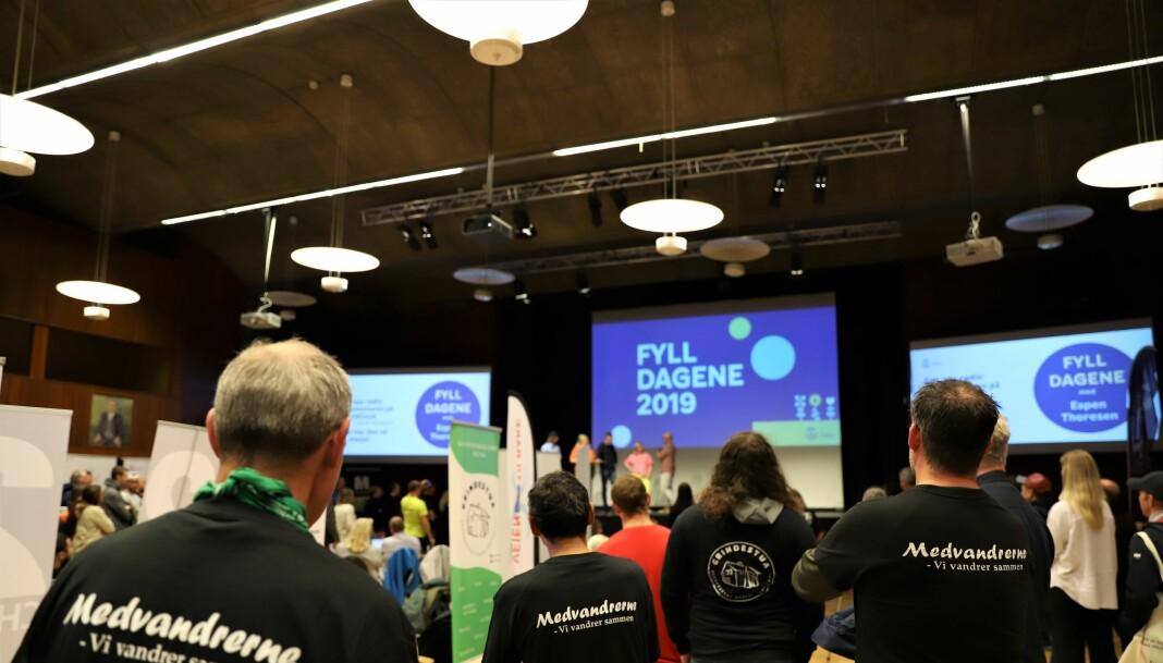 Over 700 personer var innom Fyll Dagene i Oslo i 2019. 60 ulike aktører stilte ut.