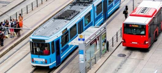 – Venstre sikrer at det ikke kommer flere biler inn til Oslo og at sykkel og buss prioriteres