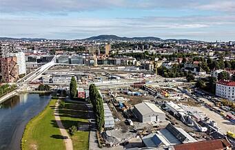 Middelalderparken i Bjørvika blir dobbelt så stor fra 2022