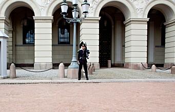 22-åring drapstruet gardister i Slottsparken: - If I had a gun, I would have gunned you both down