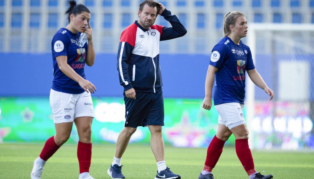 Vålerengas damer og trener Jack Majgaard Jensen gikk glipp av to viktige poeng i kampen om seriegullet etter uavgjort mot Avaldsnes.