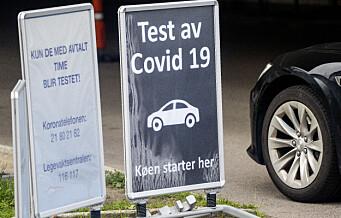 Smittekurven i Oslo blir brattere og brattere hver dag. 146 nye koronasmittet de siste fem dagene