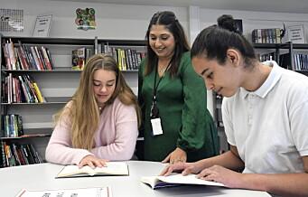 Regjeringsoppnevnt utvalg vil legge ned skolebibliotekene: — Ikke ta fra oss biblioteket, svarer elevene ved Sofienberg skole