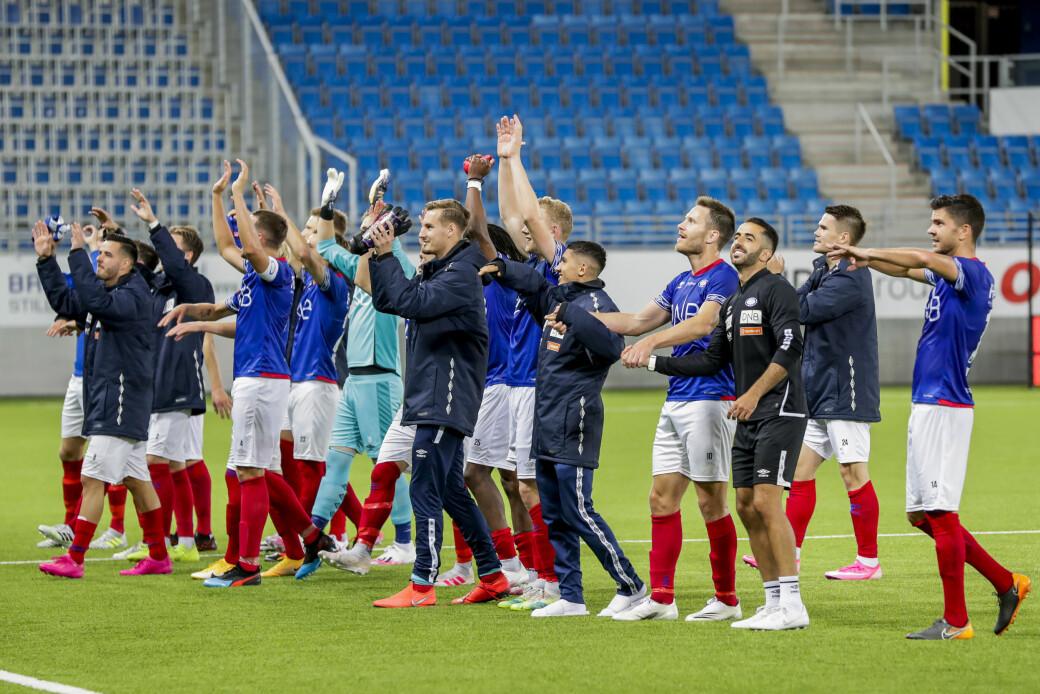 Vålerengas a-lagsspillere gir 40.000 kroner i støtte til det lokale idrettslaget Gjerdrum IL i den katastroferammede kommunen nord for Oslo.