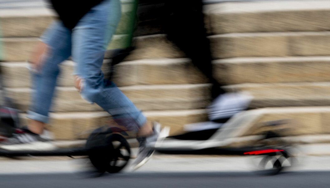 Oslo legevakt har fått inn rekordmange skader som følge av ulykker med elsparkesykler i august.