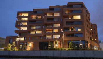 De nye bygningene langs vannet ved Bjørvika har en interessant fremtoning og høy byggkvalitet.
