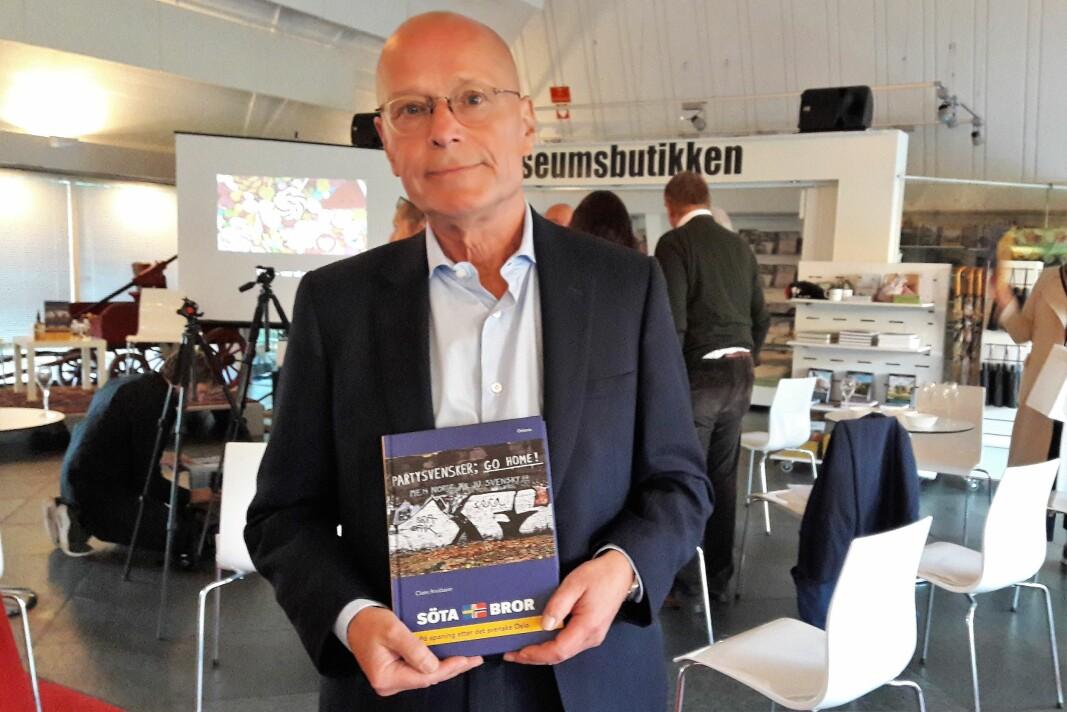 Claes Arvidssons bok om det svenske i Oslo kommer nå på norsk.