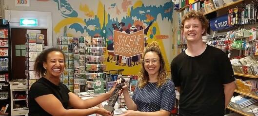 Sagene bokhandel fikk årets Lovisa-pris