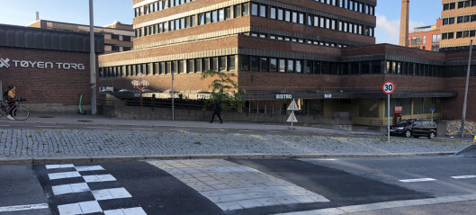 Endelig har foreldrene og barna på Tøyen skole fått fartshump i Økernveien