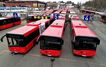 3.800 bussjåfører streikeklare i Oslo-området