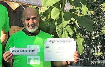 Reza (60) lever med en ny lever. Nå fronter han Sagene-aksjon for organdonasjon