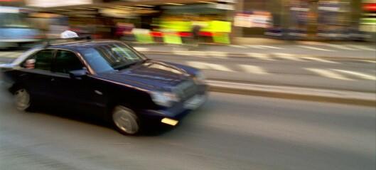 Gutt påkjørt av taxi på Bjølsen