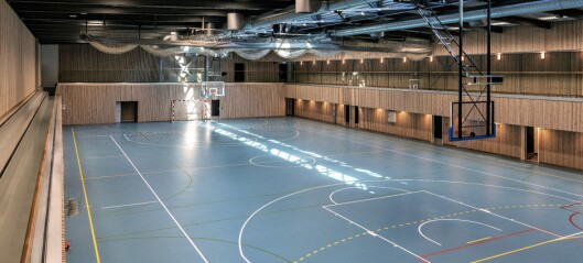Trasopphallen på Oppsal arena er ferdig rehabilitert