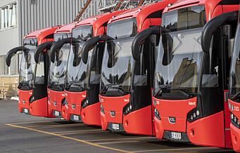 Ikke økt trafikk på veiene og i kollektivtransporten i morgenrushet tross busstreik