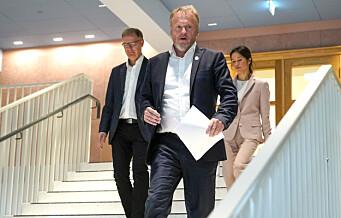 Raymond Johansen truer med svært strenge tiltak hvis Oslos koronasmitte fortsetter å øke