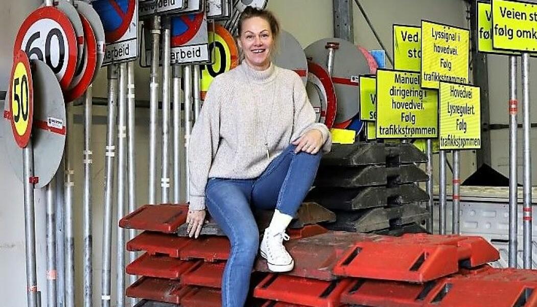 Gründer og daglig leder hos Trafikkjentene, Cecilie Vik