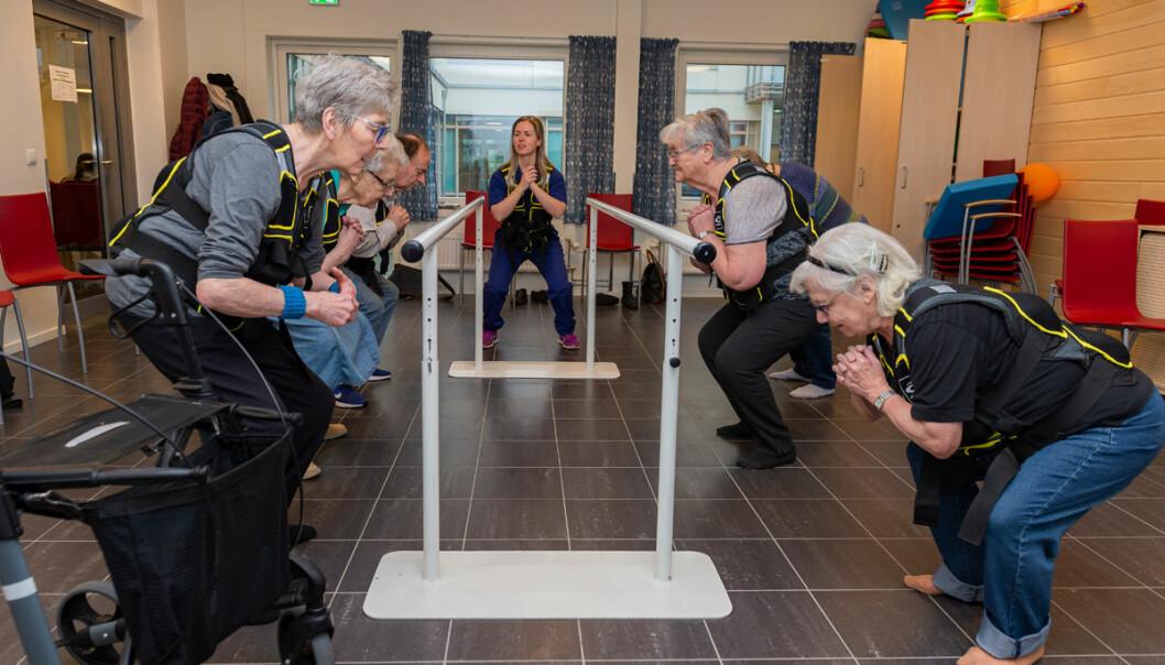 Bydel St. Hanshaugen har mange aktivitetstilbud for de over 60.