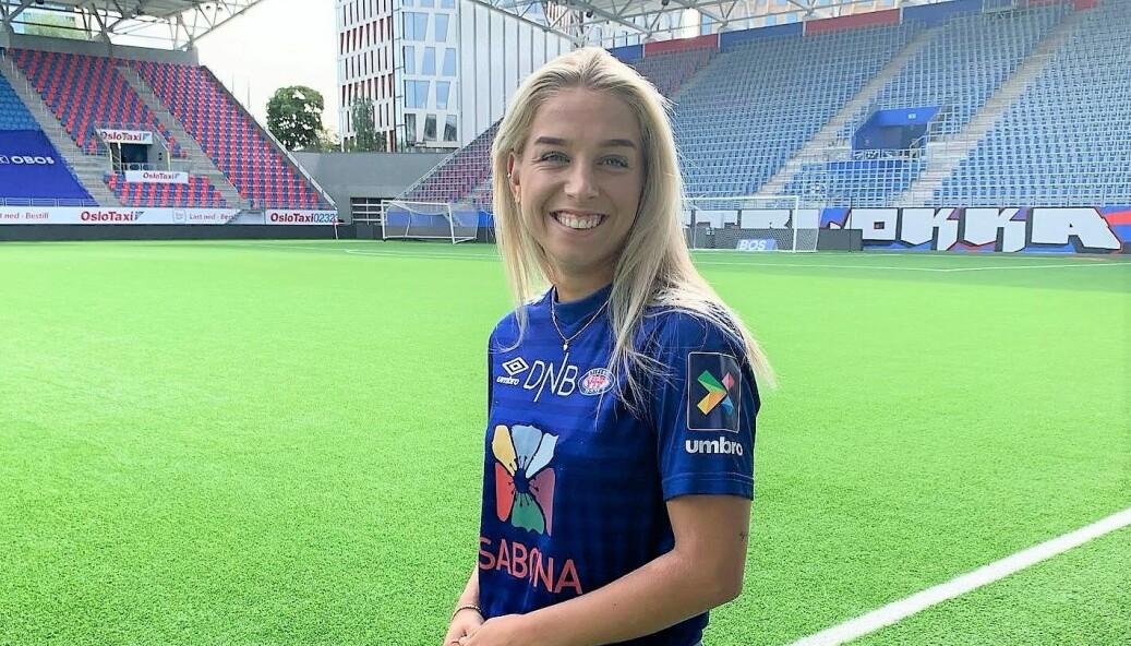 Midtbanetalentet Rikke Nygård (20) er siste spiller inn portene på Intility arena. Hun er spilleklar til søndagens kamp mot Arna Bjørnar.