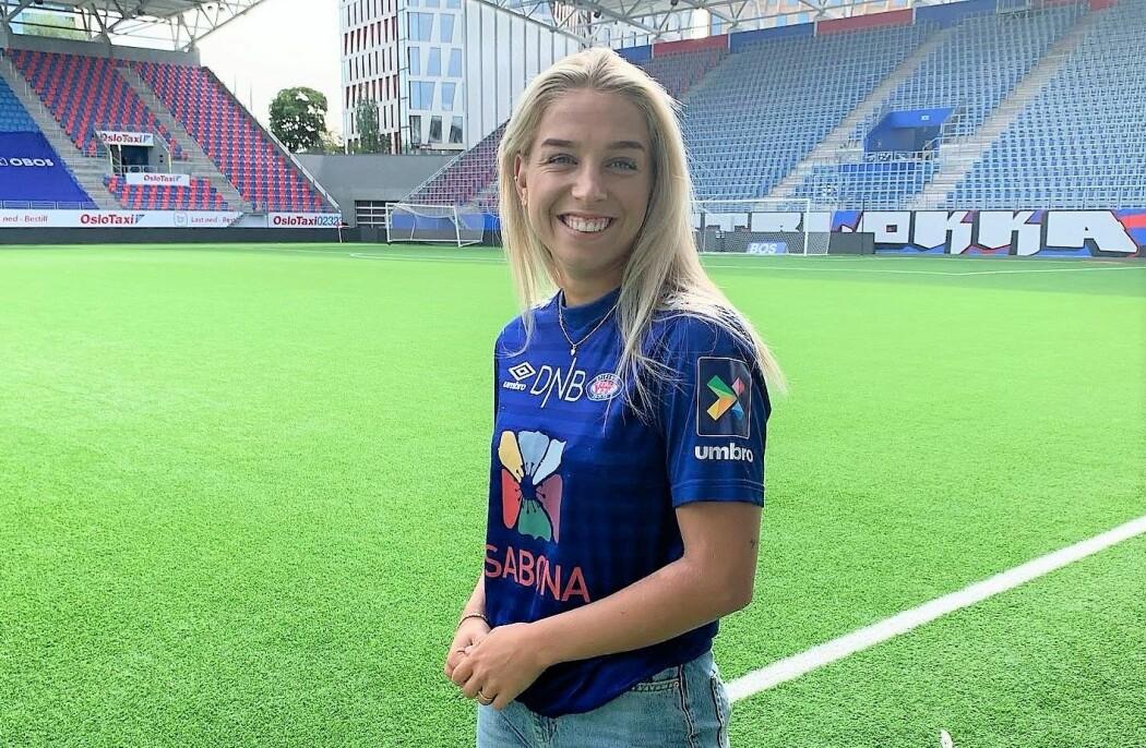 Rikke Nygård (20) er sammen med nyankomne Camilla Huseby et bevis på at Vålerenga satser på ungdommen foran neste sesong.