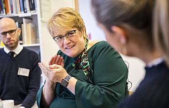 Trine Skei Grande blir styreleder for Oslo Middelalderby