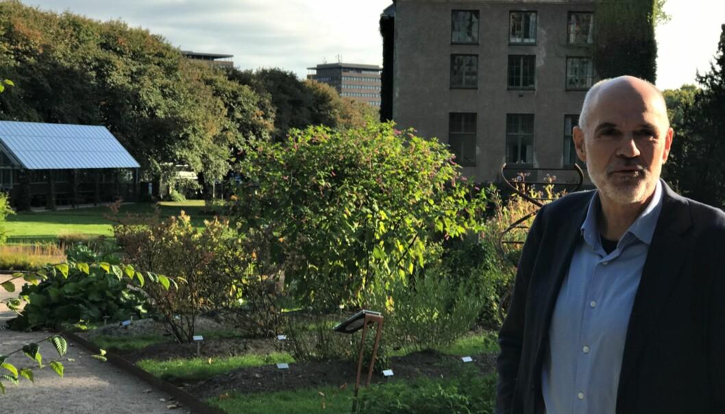 Direktør ved Naturhistorisk museum, Jan Terje Lifjeld, opplyser om at det er vakthold i parken.