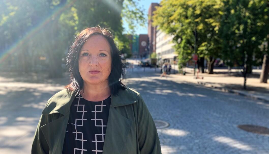 Aina Skjefstad Andersen fra Utdanningsforbundet Oslo mener oslobudsjettet vil ramme barnehagene.