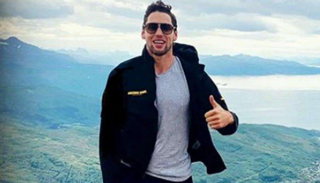 Wade Murphy gleder seg til å bo i Oslo og møte fansen.