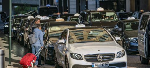 – Taxinæringa trenger ikke Aps fagre ord, men konkret politikk
