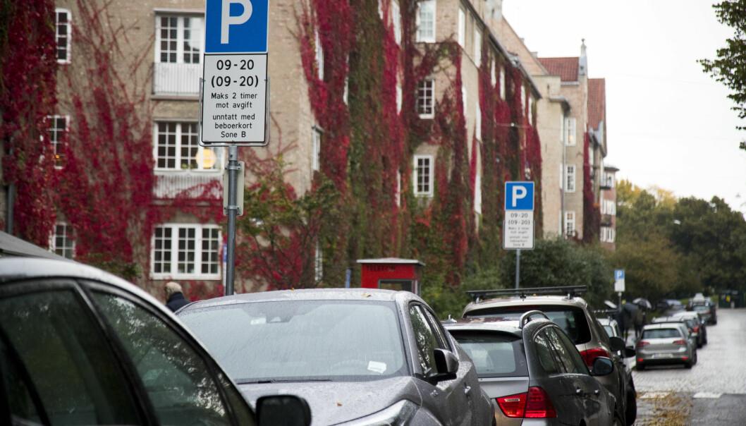 Fjerne beboerparkeringen, krever debattskribenten.