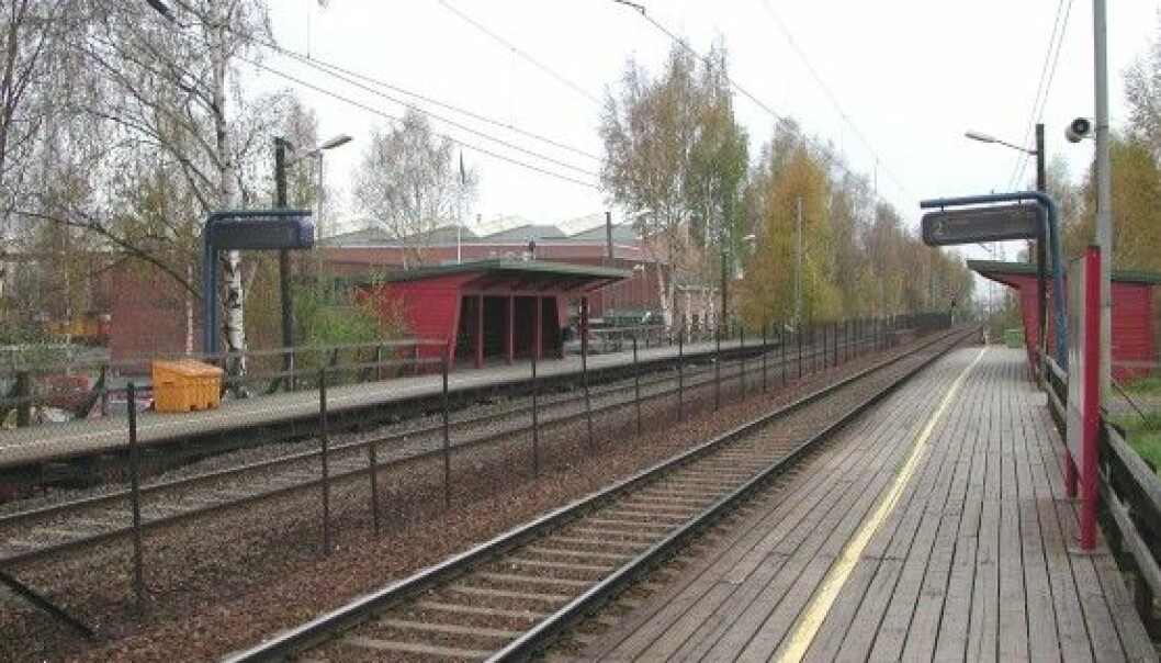 Nyland stasjon ligger like ved jernbaneverkstedet på Grorud, og betjenes av lokaltog mellom Oslo S og Lillestrøm.