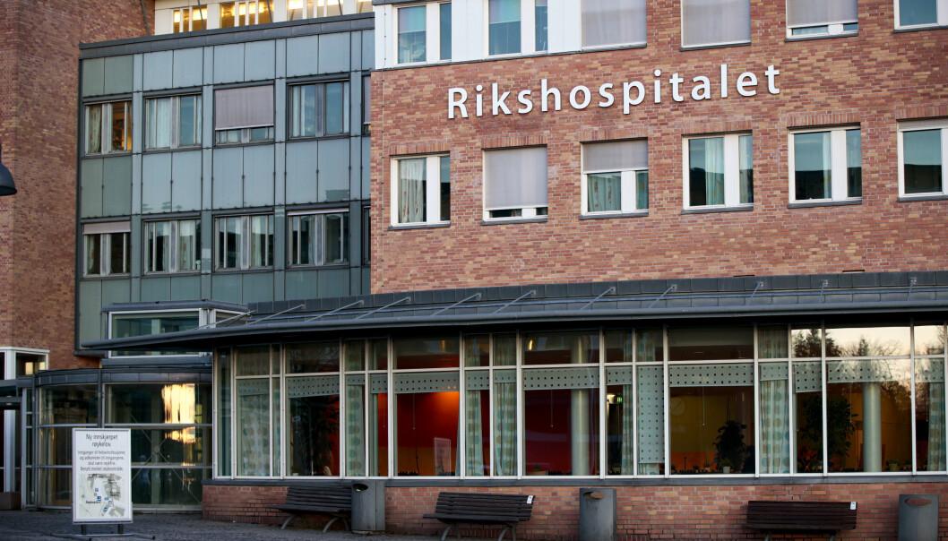 Avdelingen med koronasmitte ved Rikshospitalet behandler svært for tidlig fødte barn og kritisk syke barn født til termin.