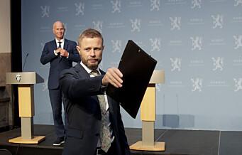 Helseminister Bent Høie (H) forberedt på å gripe inn i Oslo hvis byrådet ikke tar smittegrep