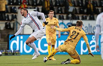 Vålerenga og Kjartansson klarte ikke score på opplagte sjanser: - Min skyld at vi ikke vinner i dag