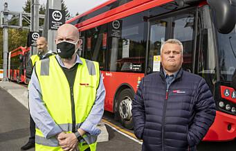 Busstreiken: Fremdeles fastlåst konflikt
