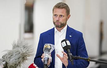 Bent Høie: – Jeg stiller meg 100 prosent bak tiltakspakken fra byrådet