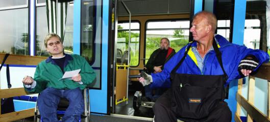 Dyrere i kollektivtrafikken – men kun for funksjonshemmede
