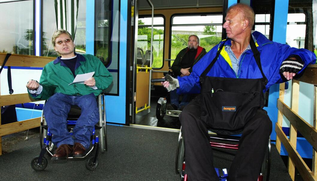 Prisene skal ikke løftes i kollektivtrafikken i år, ifølge byrådet. Men for én gruppe gjelder ikke det, nemlig for de funksjonshemmede som reiser med TT-turer.