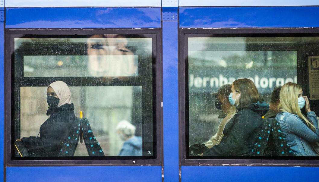 Politiet sier at de likevel kan gi pålegg hvis munnbindpåbud i Oslos kollektivtrafikk ikke følges.