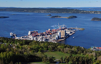 Anlegg på Sjursøya ble evakuert etter at alarm ble utløst