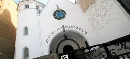 Nynazist-aksjon under jødisk høytid i synagogen i Bergstien