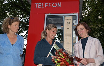 Vålerenga har fått sin egen lesekiosk, i Danmarksgate