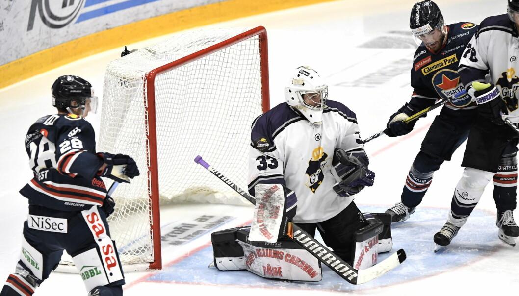 Tap i lørdagens seriepremiere til tross. Grüner-keeper Jesper Ekeberg hadde et meget godt comeback mellom stengene.