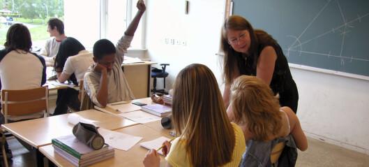 – Elevene bør få velge nivå fra 5. klasse