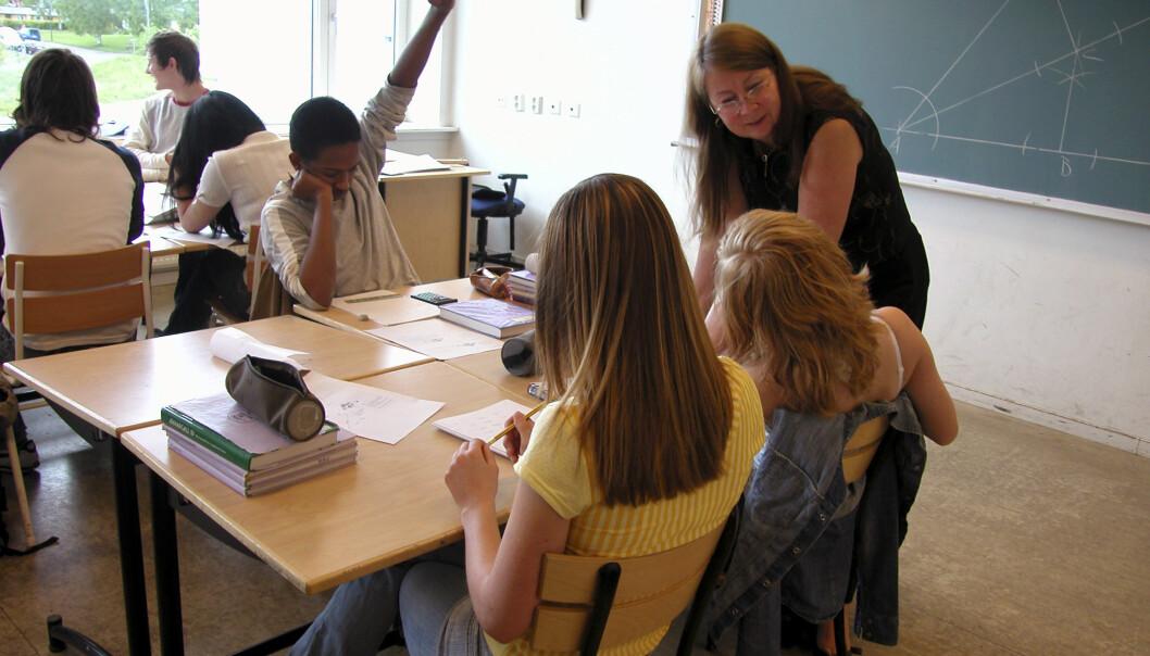 Elevene bør få velge sitt eget fagnivå fra femte klasse, mener skribenten.