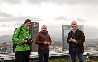 Får byens mest spektakulære utsikt gratis i ti år: - Folk skal få topptur midt i Oslo