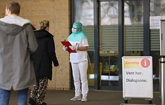 Oslo universitetssykehus har startet vaksinering av ansatte