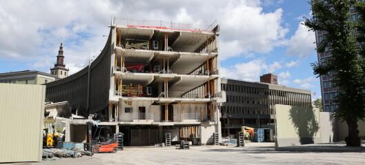Bygging av nytt regjeringskvartal kan starte i 2021